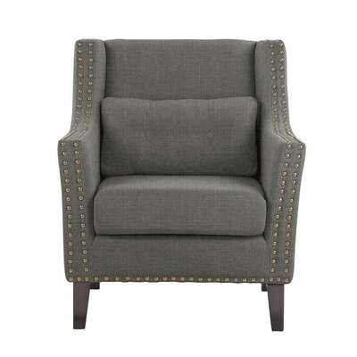 Despain Wingback Chair Upholstery: Sonoma Dark Gray Solid