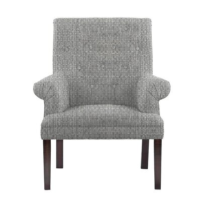 Hudspeth Armchair Upholstery: Rollins Light Gray Solid