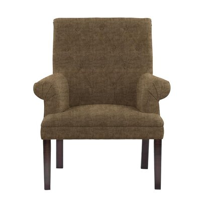 Hudspeth Armchair Upholstery: Sonoma Brown/Gray Solid