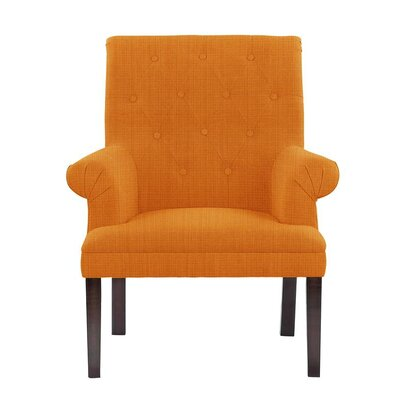Desrochers Armchair Upholstery: Guylene Orange