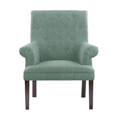 Hudspeth Armchair Upholstery: Elon Gray/Blue Gray Solid
