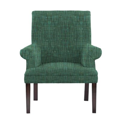 Desrochers Armchair Upholstery: Cali Green/Blue/Gray Solid