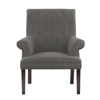 Hudspeth Armchair Upholstery: Sonoma Dark Gray Solid