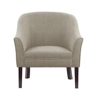 Ericksen Barrel Chair Upholstery: Sonoma Light Gray Solid