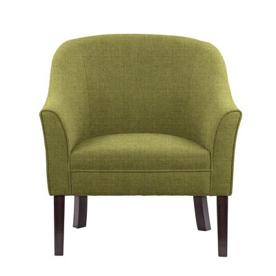 Ericksen Barrel Chair Upholstery: Sonoma Olive Green Solid