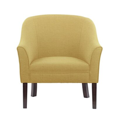 Ericksen Barrel Chair Upholstery: Aldridge Taupe/Tan/Beige Solid