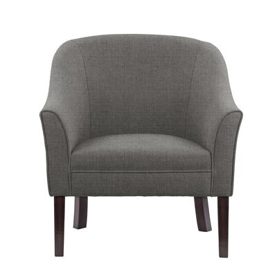 Ericksen Barrel Chair Upholstery: Sonoma Dark Gray Solid