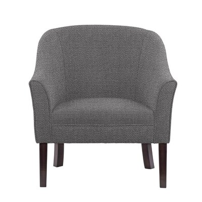 Ericksen Barrel Chair Upholstery: Eclipse Gray Solid