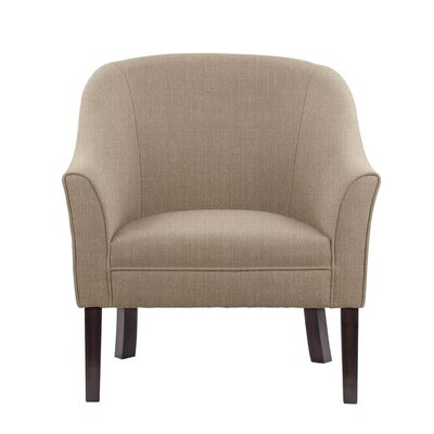 Ericksen Barrel Chair Upholstery: Verge Beige Solid