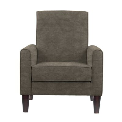 Erik Armchair Upholstery: Sonoma Gray Brown Solid