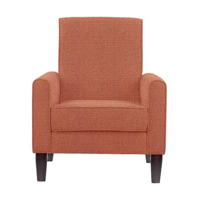 Erik Armchair Upholstery: Eclipse Coral/Red/Pink Solid