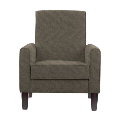 Erik Armchair Upholstery: Eclipse Gray/Brown Solid