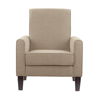 Erik Armchair Upholstery: Verge Beige Solid