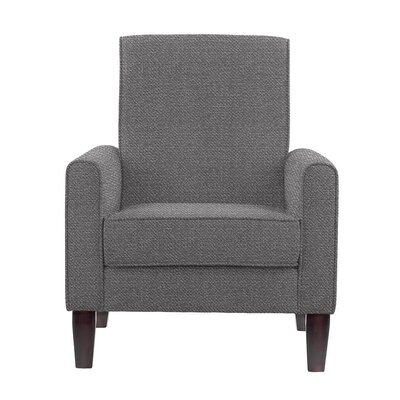 Erik Armchair Upholstery: Eclipse Gray Solid