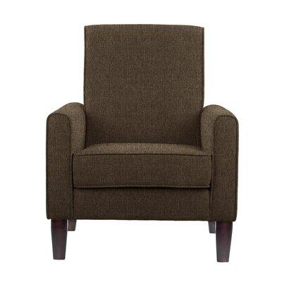 Erik Armchair Upholstery: Verge Gray/Brown Solid