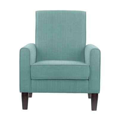 Erik Armchair Upholstery: Guylene Light Blue Solid