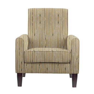 Erik Armchair Upholstery: Telsa Gray/Cream Striped