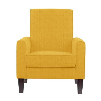 Erik Armchair Upholstery: Helio Yellow Solid