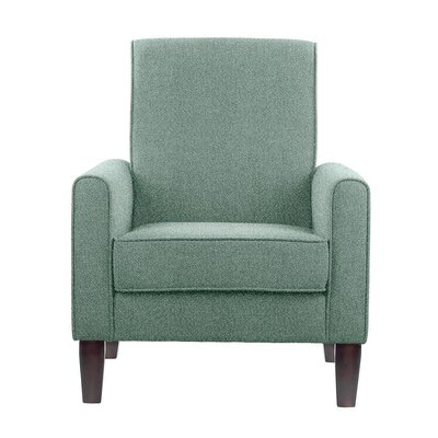 Erik Armchair Upholstery: Elon Gray/Blue Gray Solid