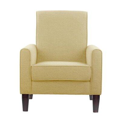 Erik Armchair Upholstery: Aldridge Cream Solid