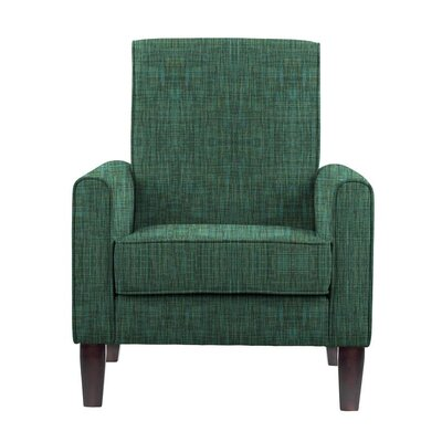 Erik Armchair Upholstery: Cali Green/Blue/Gray Solid