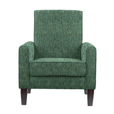 Erik Armchair Upholstery: Summit Green/Blue/Gray Solid