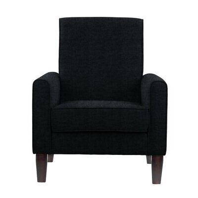 Erik Armchair Upholstery: Sonoma Black Solid