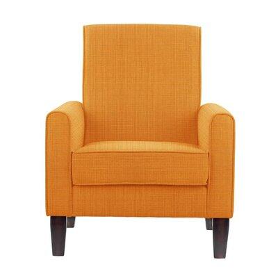 Erik Armchair Upholstery: Guylene Orange Solid