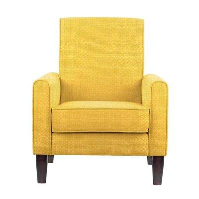 Erik Armchair Upholstery: Rollins Yellow Solid