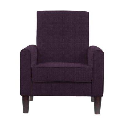 Erik Armchair Upholstery: Helio Plum/Purple Solid
