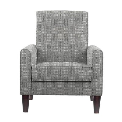 Erik Armchair Upholstery: Rollins Light Gray Solid