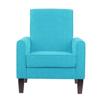 Erik Armchair Upholstery: Helio Teal Solid