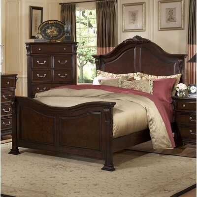 Raftery Panel Bed Size: King