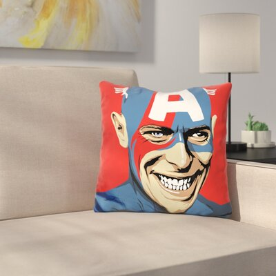 This is Not America Throw Pillow