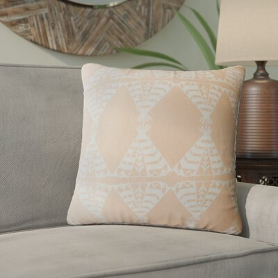 Vail Geometric Down Filled 100% Cotton Throw Pillow Size: 18 x 18, Color: Sundown