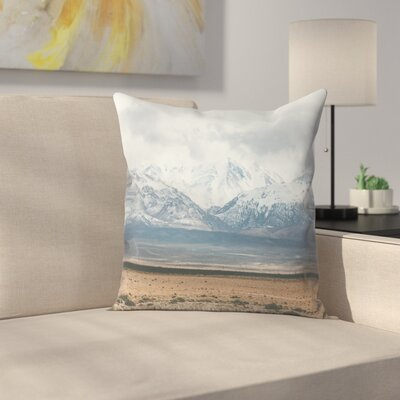 Luke Gram Atlas Mountains Morocco Throw Pillow Size: 14 x 14
