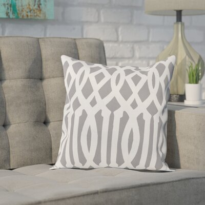 Carnell Decorative Synthetic Throw Pillow Size: 20 H x 20 W, Color: Classic Gray