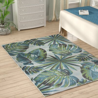 Alessa Teal/Green Area Rug Rug Size: 910 x 132
