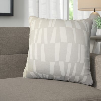 Jocelynn Geometric Cotton Throw Pillow