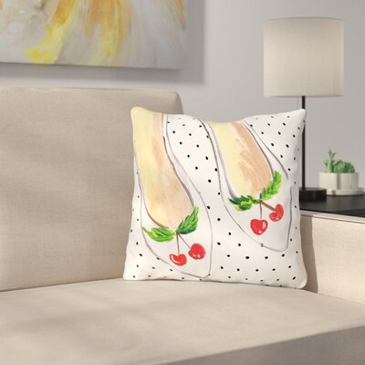 Brubaker Summer Flats Throw Pillow Size: 16 H x 16 W x 3 D