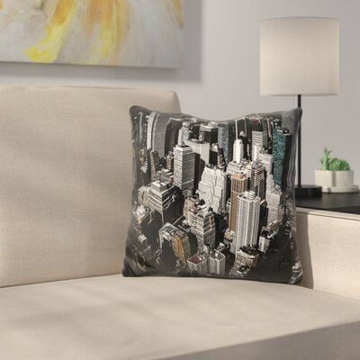 Marroquin Boxes of Manhattan Throw Pillow