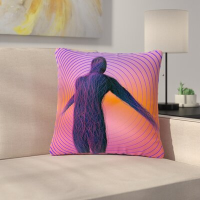 Danny Ivan Human Soul Outdoor Throw Pillow Size: 16 H x 16 W x 5 D
