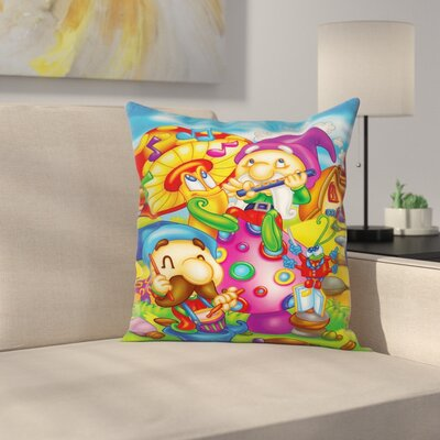 Fairy World Pillow Cover Size: 16 x 16
