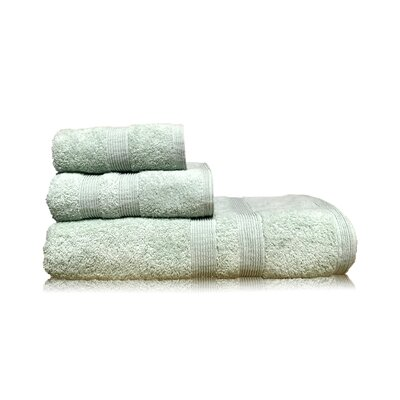 Luxury 3 Piece Towel Set Color: Green