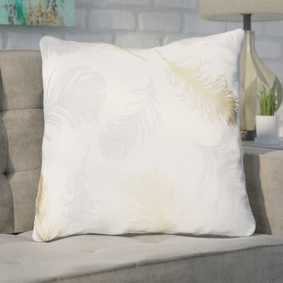 Shanon Throw Pillow Color: Cream