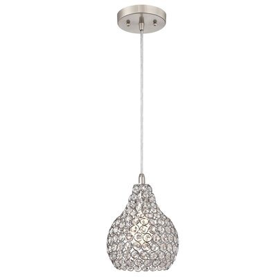 Mcewen 1-Light Crystal Pendant
