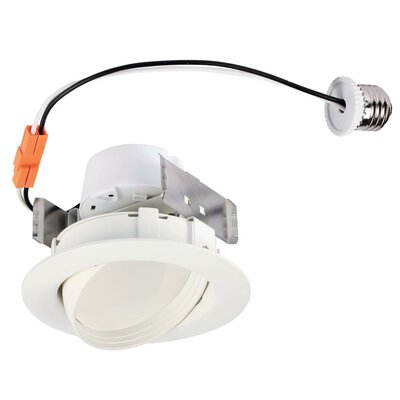 Recessed Housing Size: 3.81 H x 7.28 W x 3.5 D, Wattage: 13