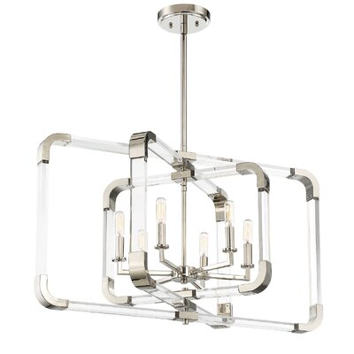 Cael 6-Light Candle-Style Chandelier