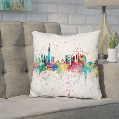 Jarmon Dubai Throw Pillow