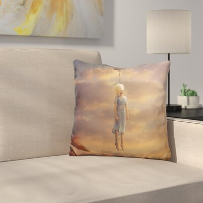 Drifting on a Sad Song Throw Pillow